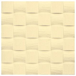 Sparpaket Deckenplatten Polystyrolplatten Stuck Decke Dekor Platten 50x50cm Len gelb