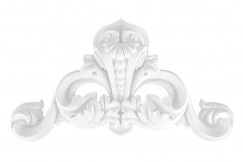 1 Ornament Dekorelement PU Stuckdekor Innen Wanddekor stoßfest 160x270mm, A629B