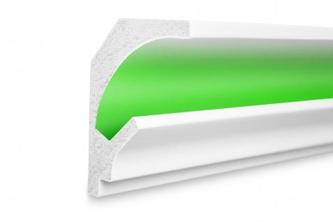 1, 15 Meter LED Profil XPS Stuck Trockenbau Tesori 115x90mm KD201