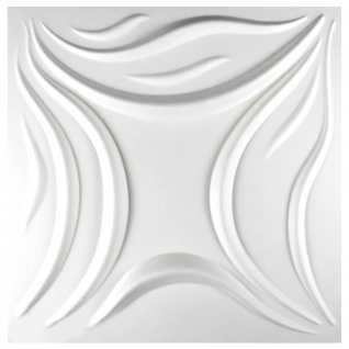 1 qm 3D Platten Natur Stuck ökologisch Paneele 3D Elite Panels 50x50cm Mavis