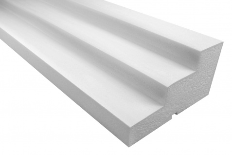 Fassadenprofile Gesimsprofile Dekorstuck stoßfest 110x210mm Sparpaket KC124