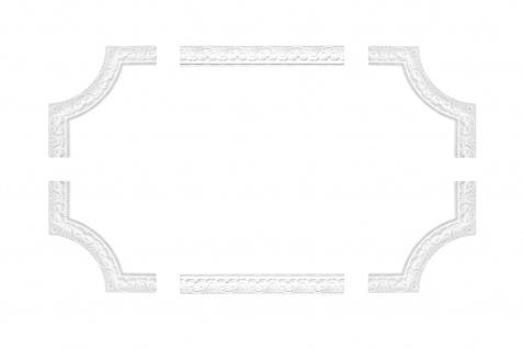 Wandumrandung Deckenumrandung Fries Stuck Dekor Rahmen Styropor Auswahl EPS B-10