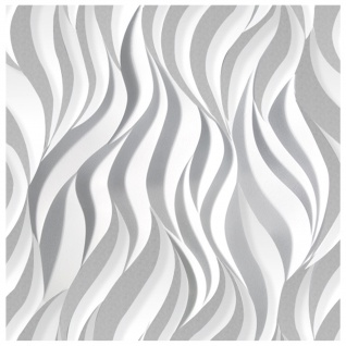 1 PS Platte 3D Paneele Wandverkleidung Decke Dekoration Sparpaket 60x60cm Hexim Flames