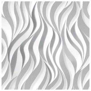 3D Paneel | Styroporplatten | Wandverkleidung | EPS | 60x60cm | Flames