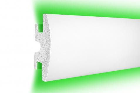 1, 15 Meter LED Profil XPS Stuck Trockenbau Tesori 120x55mm KD306
