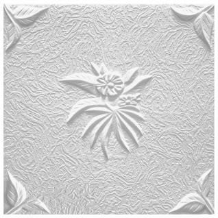 1 qm Deckenplatten Polystyrolplatten Stuck Decke Dekor Platten 50x50cm Natura - Vorschau 2