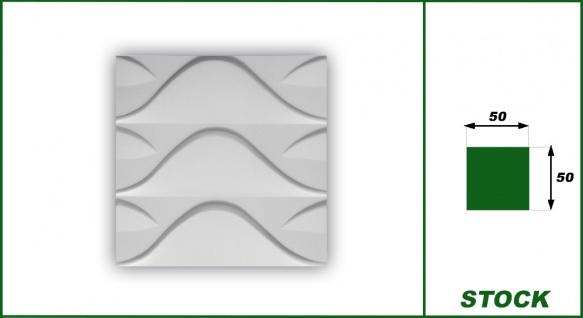 3D Wandpaneele Styroporplatten Wandverkleidung Wanddekor Verblender Stock Sparpaket - Vorschau 2