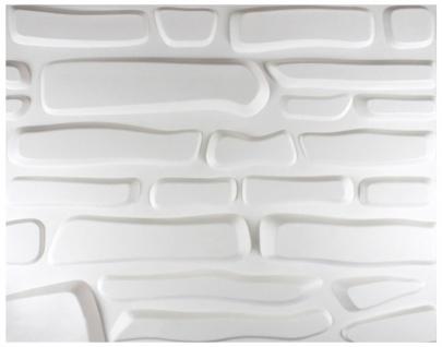 1 qm 3D Platten Natur Stuck ökologisch Paneele 3D Elite Panels 63x80cm Ariella