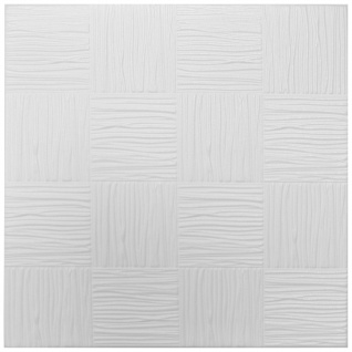 1 qm Deckenplatten Styroporplatten Stuck Decke Dekor Platten 50x50cm Nr.10