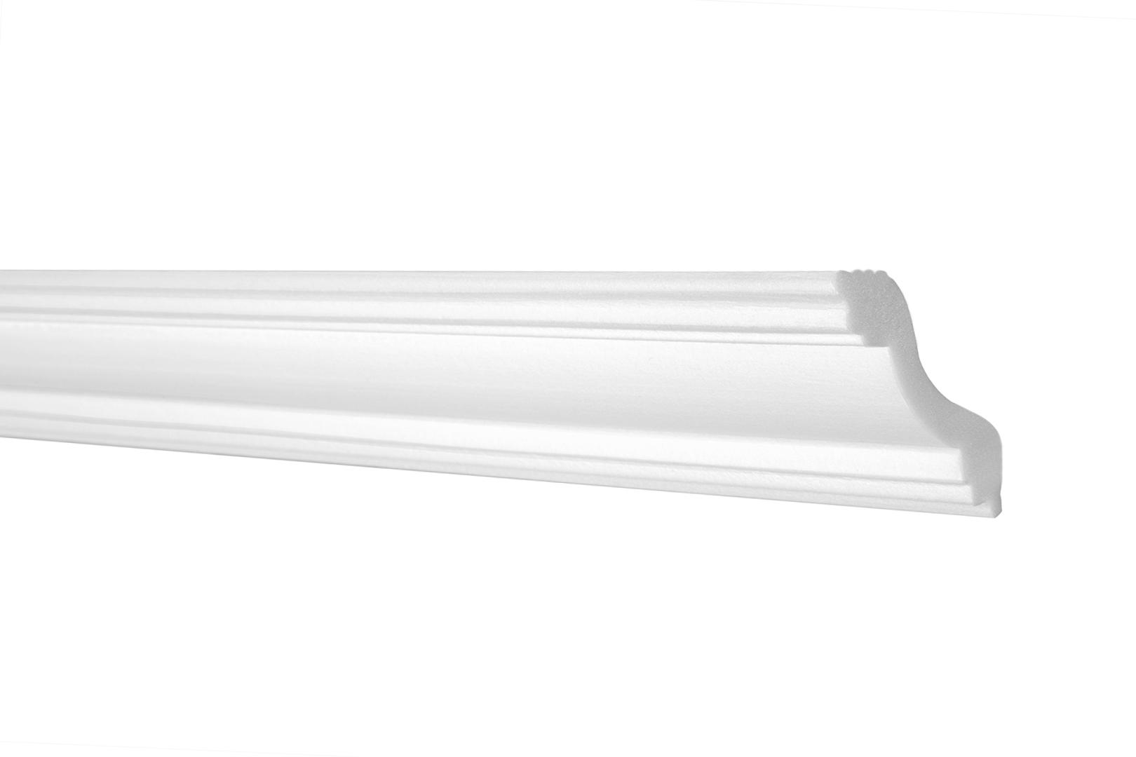 10 Meter Zierleiste Stuckleiste Eckprofil Styroporleiste XPS stabil 35x35mm E-11