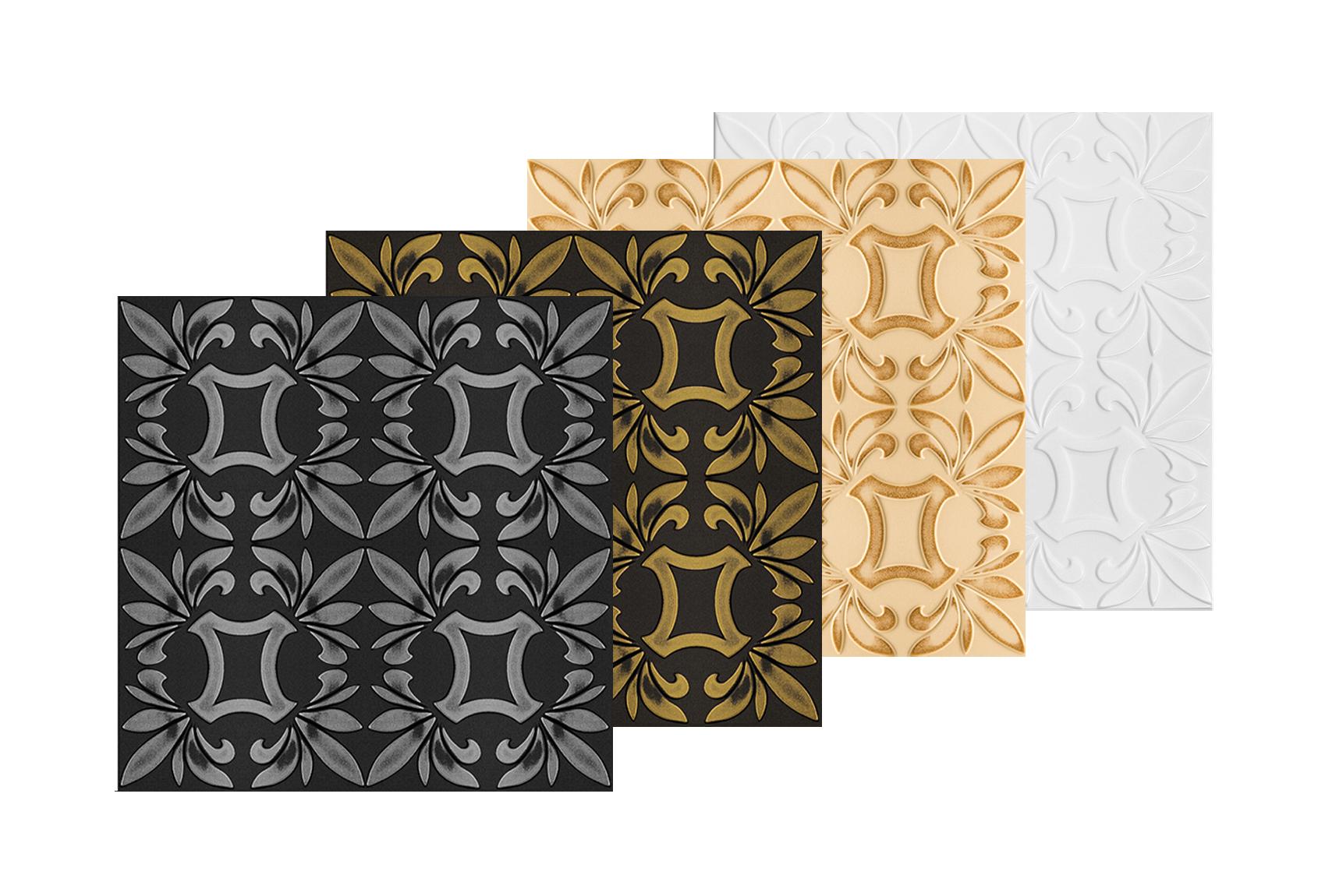 20 qm Deckenplatten Styroporplatten Stuck Decke Dekor Platten 50x50cm Nr.09