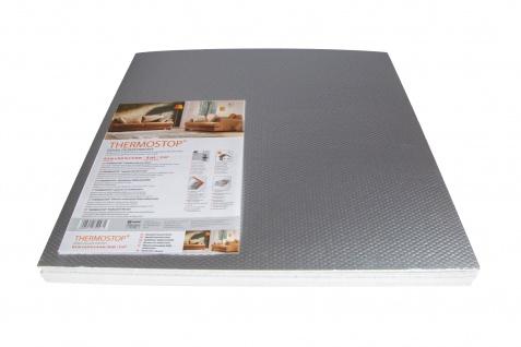 1 qm   Isolierplatten mit Alufolie   Wand Isolierung   50x50cm   THERMO-STOP 4