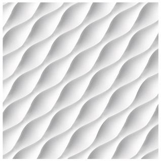 1 PS Platte 3D Paneele Wandverkleidung Decke Dekor Sparpaket 60x60cm Hexim Desert