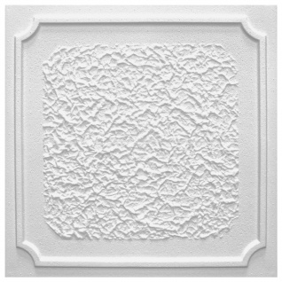 Sparpaket Deckenplatten Polystyrolplatten Decke Dekor Platten 50x50cm Antik