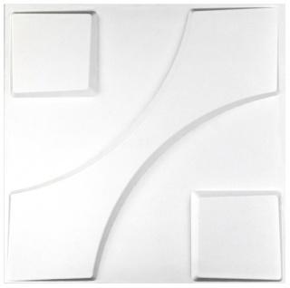 1 qm 3D Platten Natur Stuck ökologisch Paneele 3D Elite Panels 50x50cm Carlos