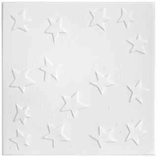 1 qm Deckenplatten Polystyrolplatten Stuck Decke Dekor Platten 50x50cm Nr.66