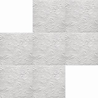 1 qm Deckenplatten Polystyrolplatten Stuck Decke Dekor Platten 50x50cm Skora - Vorschau 2