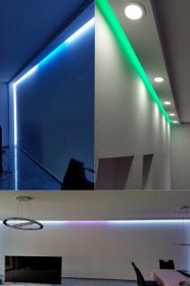 2 Meter | LED Profil | PU | stoßfest | Hexim | 130x100mm | LED-6 - Vorschau 5