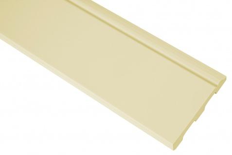 2 Meter Fußleiste Sockelleiste Eckleiste PU flexibel Grand Decor 80x12mm CR941 flexi - Vorschau 1