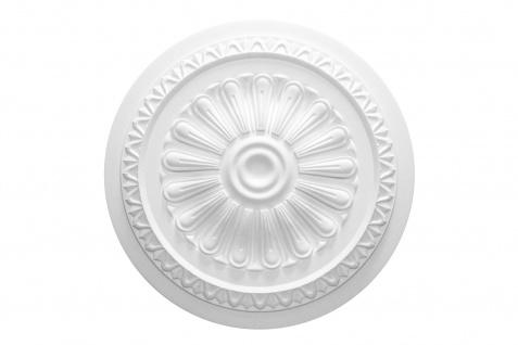 1 Rosette | Decke Stuck Innendekor EPS Dekor Marbet Durchmesser 60cm R-23