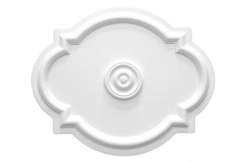 1 Rosette | Decke Stuck Innendekor EPS Dekor Marbet 515x420mm R-10
