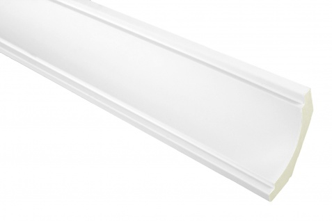 2 Meter PU Zierprofil Eckleiste Dekor stoßfest Hexim 68x51mm | FH9043