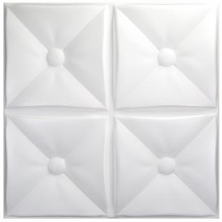 1 qm 3D Paneele Wand Decke Verkleidung Wandplatten Sparpaket 50x50cm Hexim Cozy
