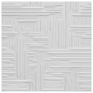 Sparpaket Deckenplatten Polystyrol Stuck Decke Dekor Platten 50x50cm Norma2 weiß