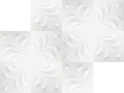 1 qm 3D Platten Natur Stuck ökologisch Paneele 3D Elite Panels 50x50cm Jenny - Vorschau 3