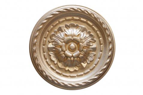 1 Rosette | Decke Stuck Innendekor EPS Dekor Marbet Durchmesser 30cm R-6 - Vorschau 4