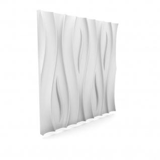 3D Wandpaneele Styroporplatten Wandverkleidung Wanddekor Paneele Fala 1 Platte - Vorschau 4