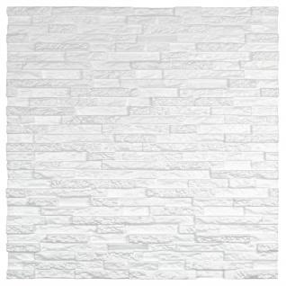 3D Wandpaneele Styroporplatten Wanddekor Ziegelsteine Verblender Stone Sparpaket - Vorschau 3