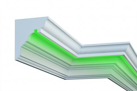 Fassade LED Stuck EPS PU Fassadenleisten wetterfest 220x300mm Sparpaket KC307