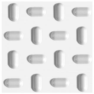 3D Paneel | Styroporplatten | Wandverkleidung | EPS | 50x50cm | Tabs | 1 qm
