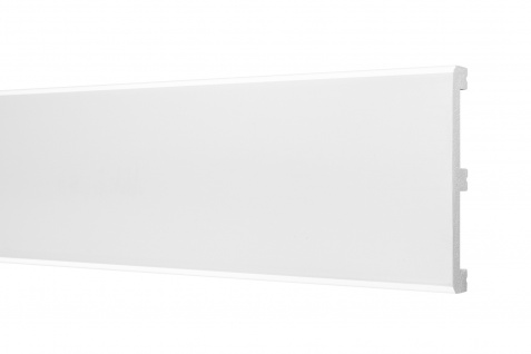 2 Meter Sockelleisten HXPS Eckleisten Ecopolimer stoßfest Cosca 15x99mm CP12