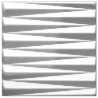 1 qm 3D Paneele Wand Decke Verkleidung Wandplatten Sparpaket 50x50cm Hexim Pyramid
