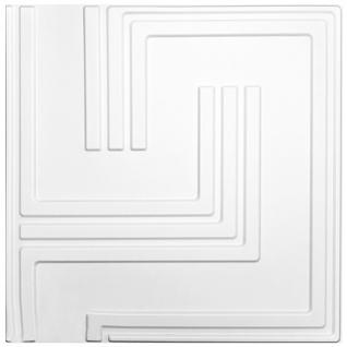 3D Platten Natur Stuck 3D Elite Panels Sparpaket 60x60cm Dave