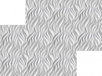 3D Wandpaneele Styroporplatten Wandverkleidung Wanddekor Verblender Flames Sparpaket - Vorschau 3