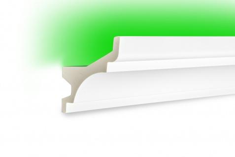 2 Meter LED Leiste PU Stuck indirekte Beleuchtung stoßfest Tesori 85x82mm KF716