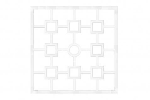 Wand- und Deckenverzierung   Fries   Stuck   Dekor   stoßfest   B5007