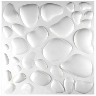 3D Platten | Natur | Stuck | Paneele | 50x50cm | Catherine