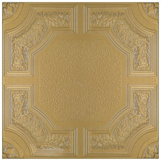 1 qm Deckenplatten Styroporplatten Stuck Decke Dekor Platten 50x50cm Nr.74