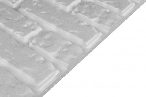 3D Wandpaneele Styroporplatten Wanddekor Ziegelsteine Verblender Brick Sparpaket - Vorschau 5
