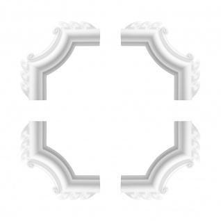1 Set Segmente Bögen für Flachleiste E-19   Stuck   Marbet Design   NE-19-02D
