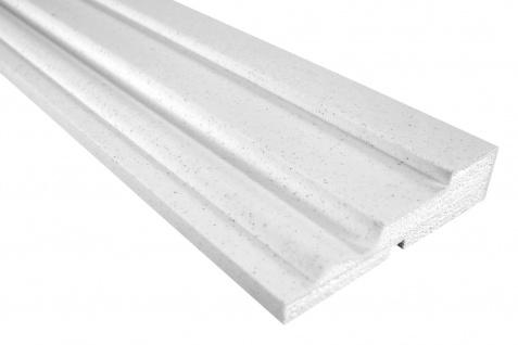 Fassade Außenstuck Gesims mit Ausprägung EPS PU stoßfest 45x175mm Sparpaket MC134