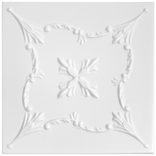 Sparpaket Deckenplatten Polystyrolplatten Decke Dekor Platten 50x50cm Nr.72