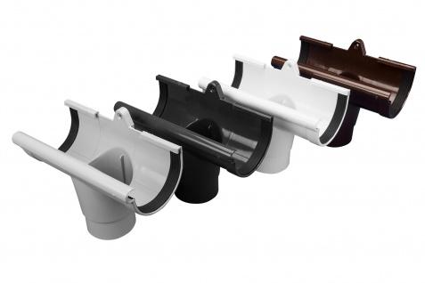 Rinnenstutze Regenrinne Regenrinnensystem Regenwasser PVC RainWay130