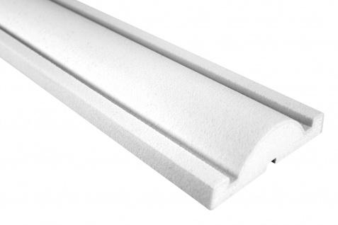 Fassade Außenstuck Gesims mit Ausprägung EPS PU stoßfest 45x150mm Sparpaket MC127