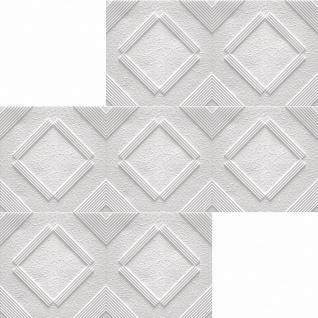 1 qm Deckenplatten Polystyrolplatten Stuck Decke Dekor Platten 50x50cm Chicago - Vorschau 2