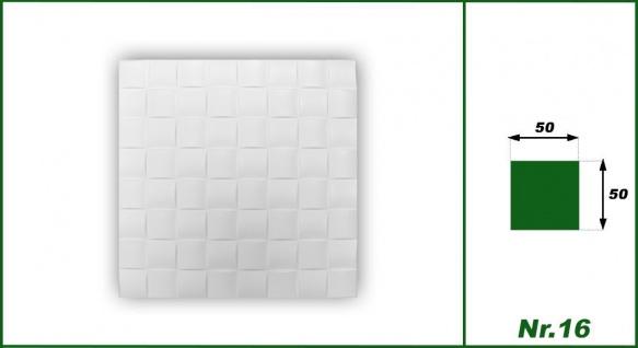 Sparpaket Deckenplatten Polystyrolplatten Decke Dekor Platten 50x50cm Nr.16 - Vorschau 2